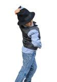 Танцы ребенк Стоковое Изображение