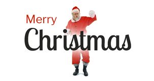 Танцы Санта Клаус 4k видеоматериал