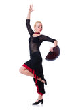 Танцы танцев танцора Стоковая Фотография RF
