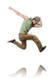 Танцы танцев танцора Стоковое Изображение RF
