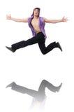 Танцы танцев танцора Стоковое Изображение