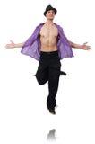 Танцы танцев танцора Стоковые Изображения RF