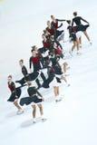 Танцы холодных мечт команды старшие Стоковые Фото