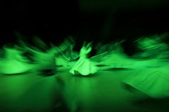 Танцы Derwishes Стоковая Фотография RF