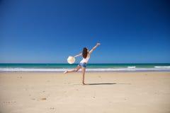 танцы zahara пляжа Стоковая Фотография RF