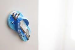Тапочка Австралия магнита сувенира на холодильнике Стоковое Изображение RF