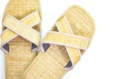 Тапочка ботинка травы Стоковые Изображения RF