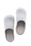 Тапочка или ботинок для пользы в доме стоковые фото