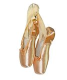 тапочки балета розовые Стоковая Фотография