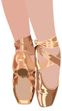 тапочки балета Стоковые Изображения RF