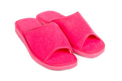 тапочки повелительницы розовые Стоковые Фотографии RF