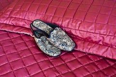 тапочки quilt Стоковое Изображение