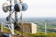 тарелка антенны Стоковое Фото