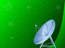 тарелка антенны Стоковая Фотография