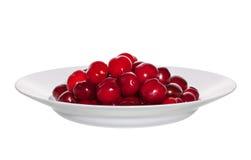тарелка вишни стоковое фото rf