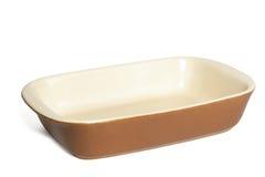 тарелка выпечки Стоковые Фото