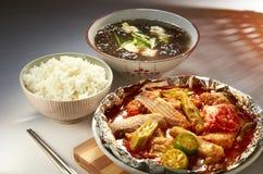 тарелка домашний oriental Стоковое Фото
