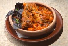 Тарелка мяса Стоковые Изображения