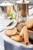 тарелка печениь Стоковое Изображение RF