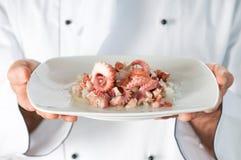 Тарелка продуктов моря Стоковые Фото