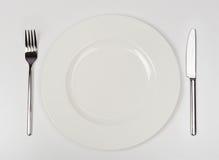 тарелка пустая Стоковые Фото