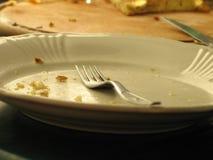 тарелка пустая Стоковая Фотография RF