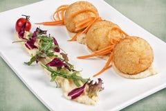Тарелка ресторана Стоковое Фото