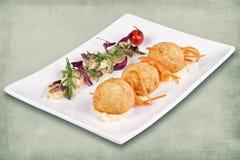 Тарелка ресторана Стоковая Фотография