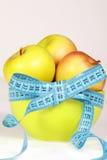 тарелка яблока стоковая фотография rf
