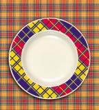тарелка Стоковая Фотография
