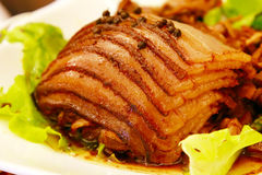 Тарелки мяса перца Стоковое Фото