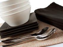 тарелки стоковая фотография rf