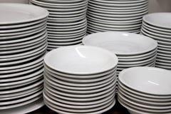 тарелки Стоковая Фотография