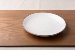 тарелка пустая Стоковые Фотографии RF