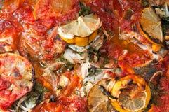 Тарелка рыб стоковые фото