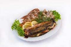 Тарелка рыб Стоковое фото RF
