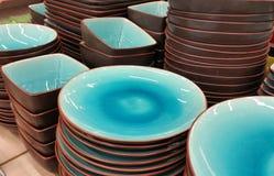 тарелки Стоковое фото RF
