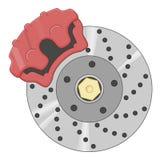 Тарельчатый тормоз Стоковые Фотографии RF