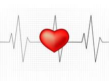 тариф монитора сердца Стоковое Фото