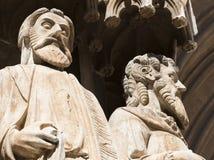 Таррагона Испания: готический собор Стоковые Фотографии RF