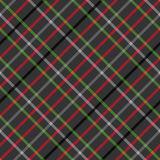 Тартан checkered раскосная картина безшовная Стоковые Фото