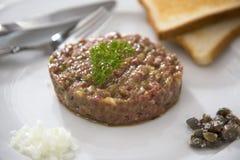 Тартар говядины Стоковое Фото