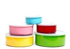 Тары для хранения еды пищевого контейнера или пластмассы Стоковое Фото