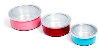 Тары для хранения еды пищевого контейнера или пластмассы Стоковые Изображения RF