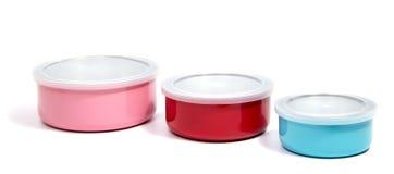 Тары для хранения еды пищевого контейнера или пластмассы Стоковое Изображение