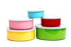 Тары для хранения еды пищевого контейнера или пластмассы Стоковые Фотографии RF