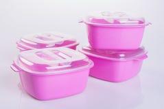 Тары для хранения еды пищевого контейнера или пластмассы Стоковое Изображение RF