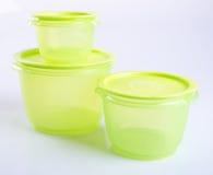 Тары для хранения еды пищевого контейнера или пластмассы Стоковые Фото