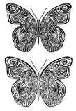 Татуировка бабочки Стоковая Фотография RF
