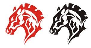 Татуировка головы лошади Стоковое фото RF
